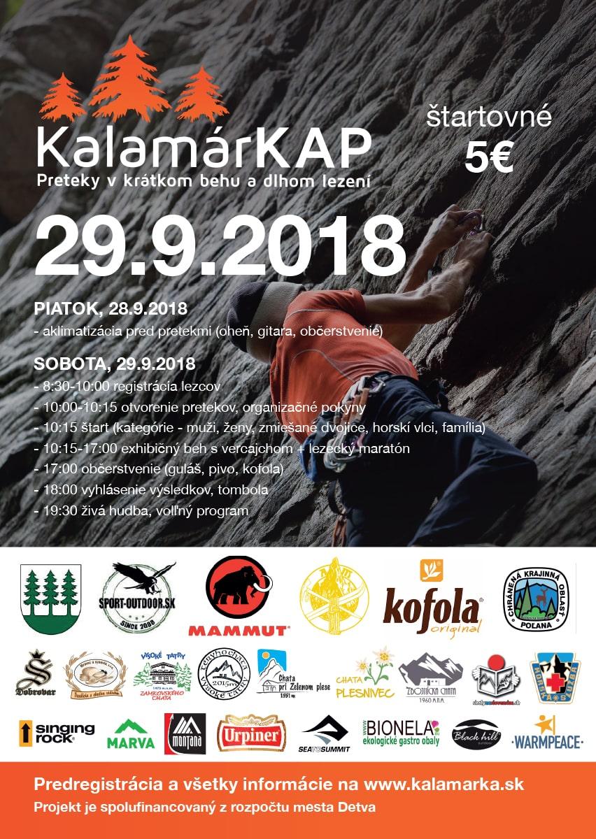 Plagát KalamárKAP 2018